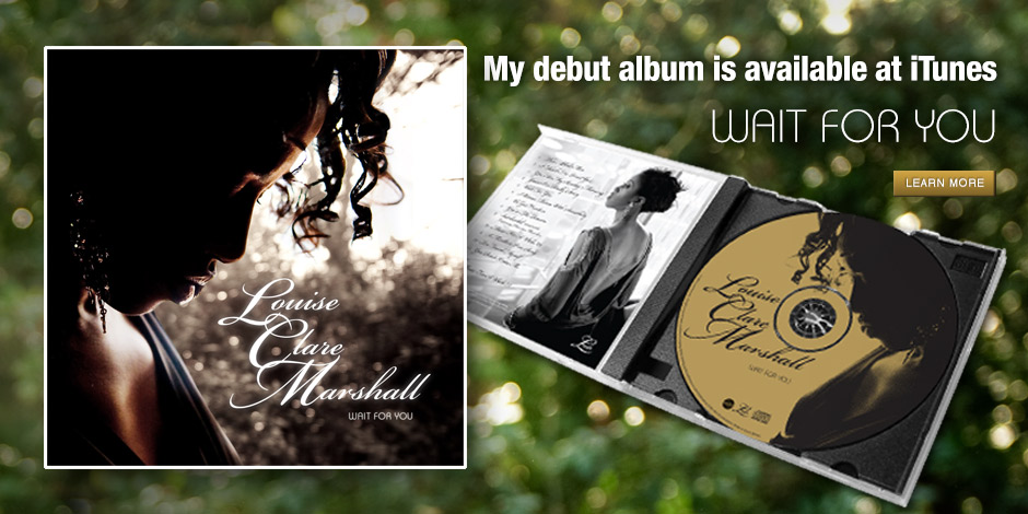 The debut album from Louise Clare Marshall, Wait for you