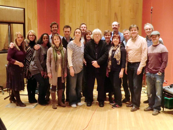 Angel Studios with Karl Jenkins, Mary Carewe and the crew