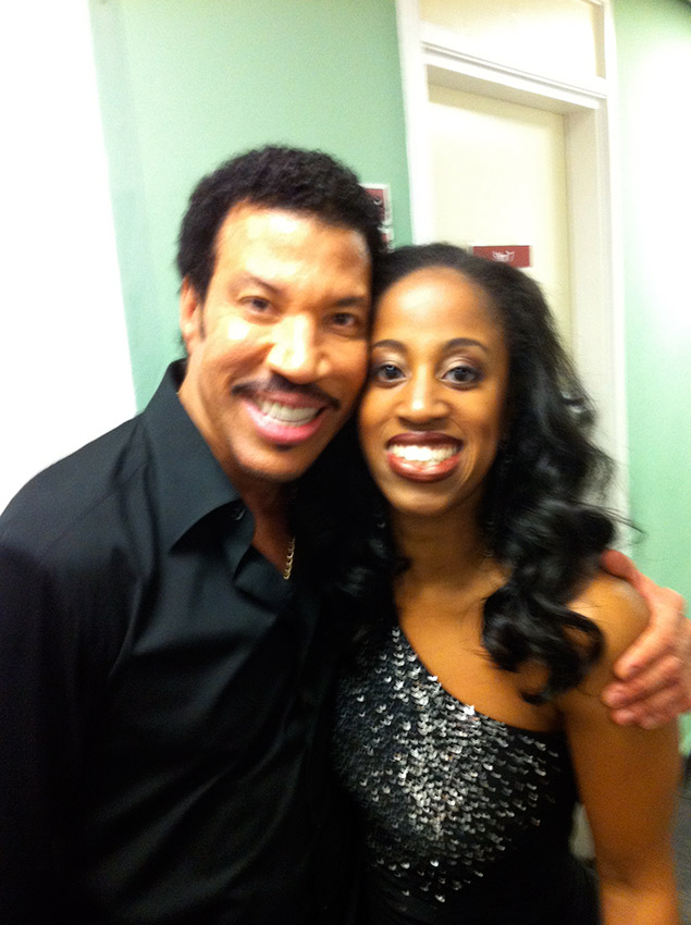Lionel Richie and I