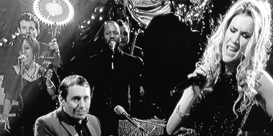 Singing BVs with many major acts on Jools Hootenanny 2015