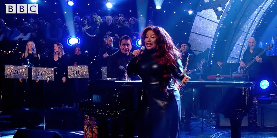 Singing BVs with many major acts on Jools's Hootenanny 2019