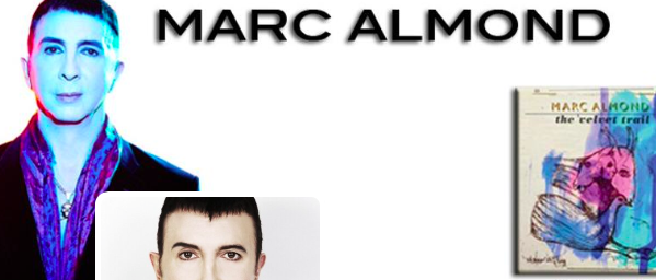 Touring the UK with Marc Almond! From 15th April to 1st May.