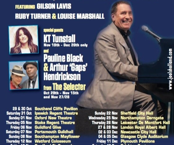 On the road with Jools in 2015…..